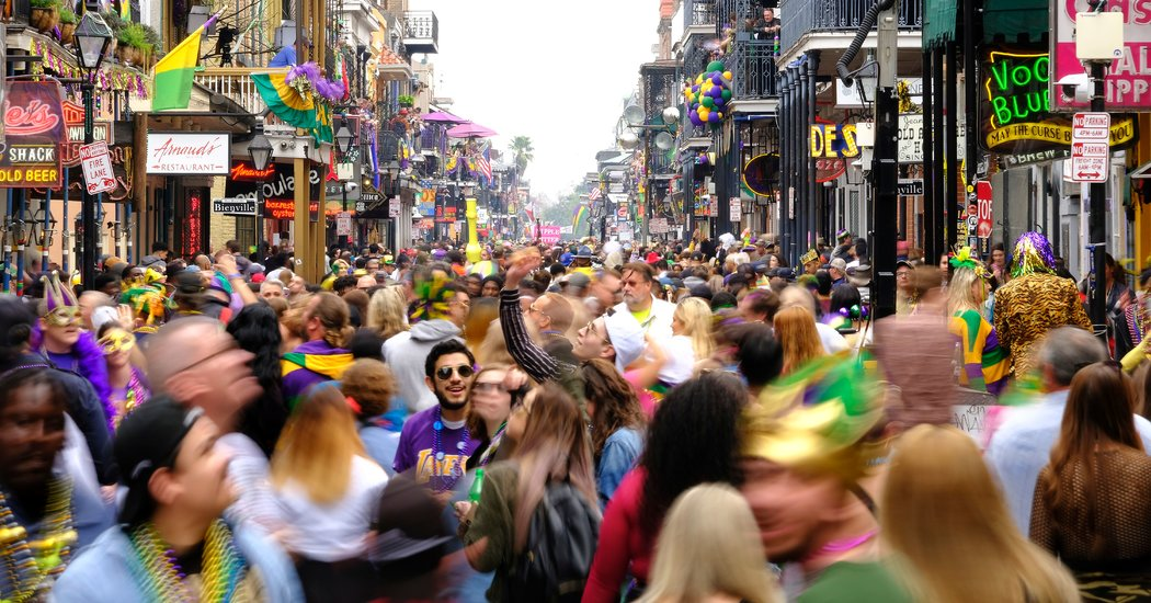 Why New Orleans Pushed Ahead With Mardi Gras, Even as It Planned for Coronavirus