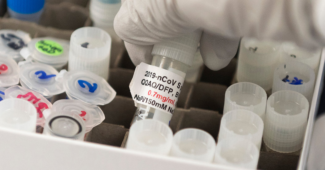 More Coronavirus Vaccine Efforts Move Toward Human Trials