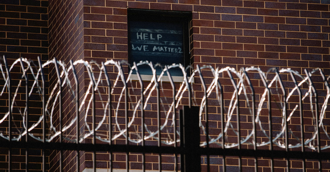 Chicago's Jail Is Top U.S. Hot Spot as Virus Spreads Behind Bars