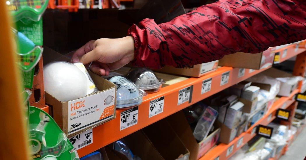 Home Depot Halts Sales of N95 Masks Amid Shortage, Company Says